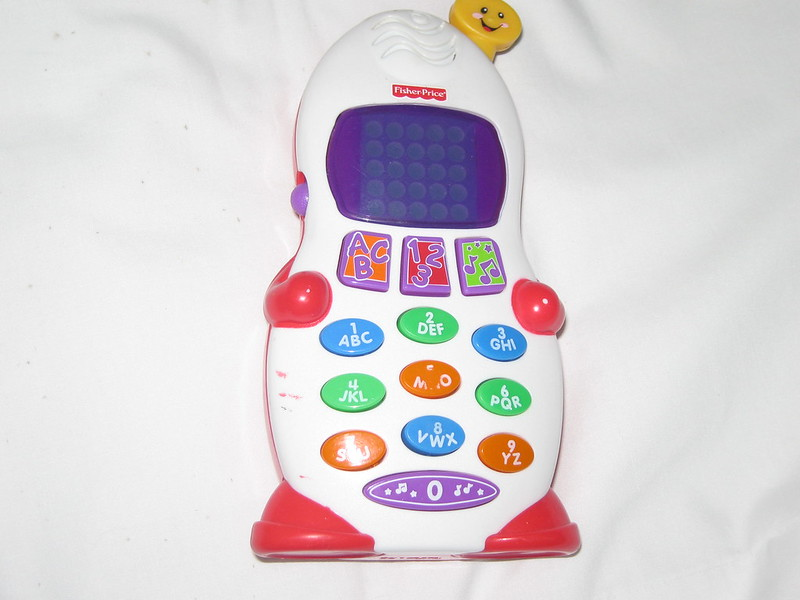 Un cellulare per bambini piccoli