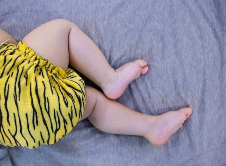 Pannolino ecologico tigrato