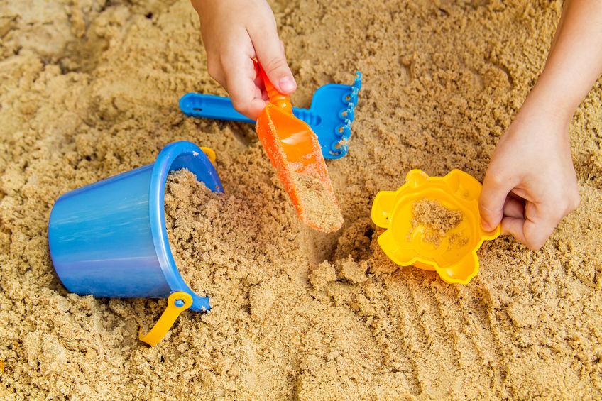 Giochi nella sabbia