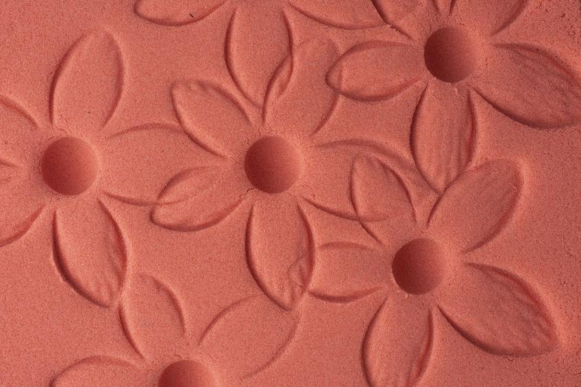 Sabbia cinetica rossa