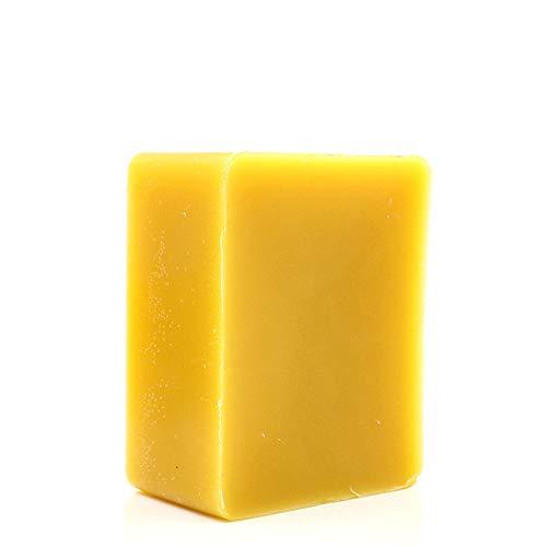 TooGet Blocco di Cera D'api in Cera D'api Giallo Puro - 100% Naturale, Grado Cosmetico, Qualità Premium - 400g