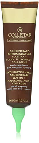 Collistar Concentrato Antismagliature, Con Elastina + Acido Ialuronico + Collagene, Ricompatta e rinforza i tessuti cutanei, Contrasta la formazione di smagliature, 150ml