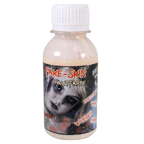 Latex Liquido, Halloween, Latex Milk, Sand 100ml for Wounds and Scars and Clear Make-Up Skin Tone Perfect for use with Faux Blood King of Halloween