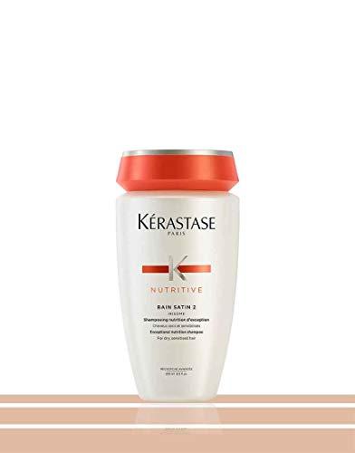 Kerastase - NUTRITIVE - Bain Satin 2 - Shampoo nutrizionale con Irisome per capelli sensibilizzati e secchi, 1 x 250 ml