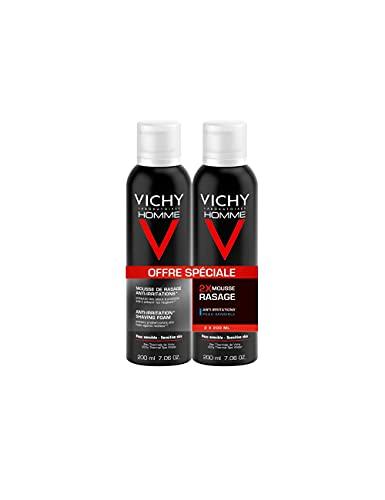 Vichy Homme Sensi Shave Schiuma da Barba Anti Irritazioni - 400 ml