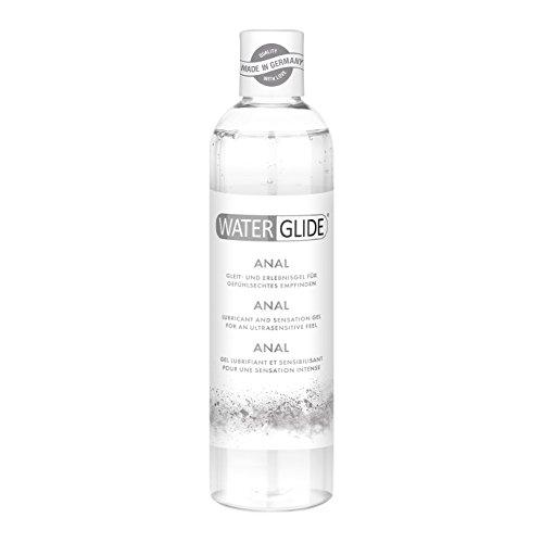 Gel lubrificante Waterglide Anal per il sesso anale e i toys, lubrifica a lungo, 300ml