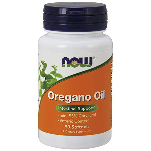 Now Foods Oregano Oil (90 Softgels, min 55% Carvacrol)