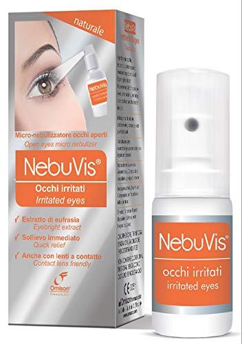 NEBUVIS Occhi Irritati Gocce Oculari In Spray, Arancione, 10 Millilitro