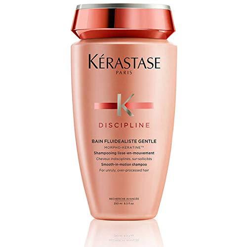 Kerastase Discipline - Bain Fluidealiste - Morpho-Keratine - Shampoo per per i capelli crespi e indisciplinati, 1 x 250 ml