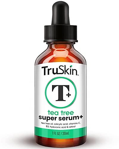 Tea Tree Clear Skin Sium, formula anti-invecchiamento per la pelle soggetta all'acne con 20% di vitamina C, retinolo, niacinamide, acido salicilico e acido ialuronico