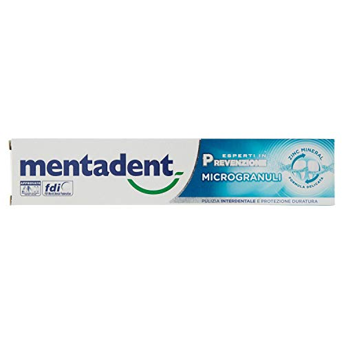 Mentadent Dentifricio Microgranuli per Denti, 75ml
