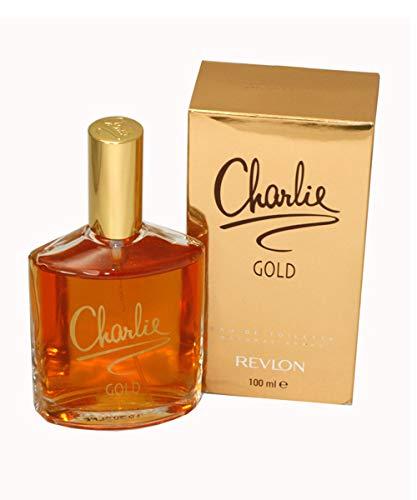 Revlon Charlie Gold Eau de Toilette, Donna, 100 ml