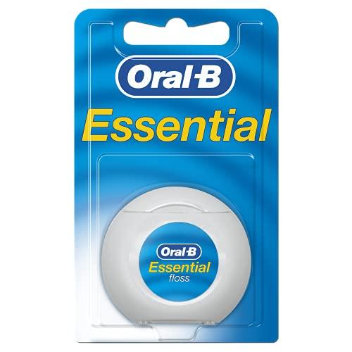 Oral-B Essentialfloss filo interdentale non cerato, 50 m