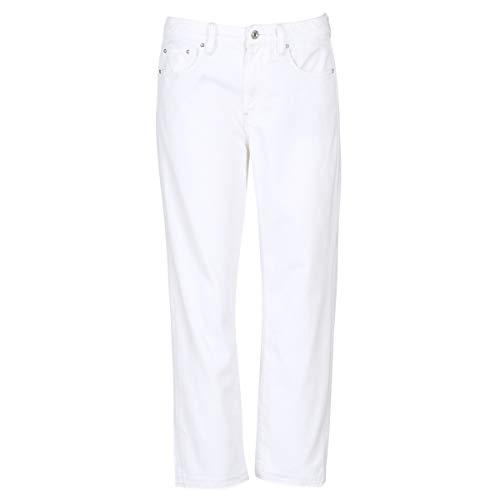 G-STAR RAW 3301 Mid Boyfriend 7/8 Jeans Femmes Bianco - IT 40/42 (US 27/32) - Jeans Boyfriend