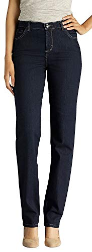 LEE Women's Classic Fit Monroe Straight-Leg Jean, Heritage, 14