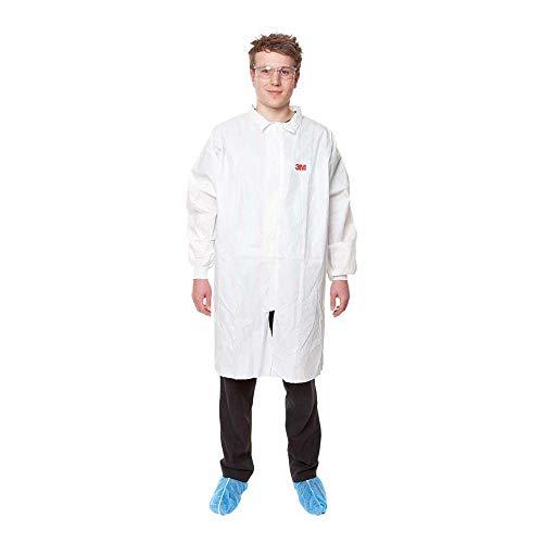 3M 4440 Camice da laboratorio/Visitatore, Bianco, taglia L
