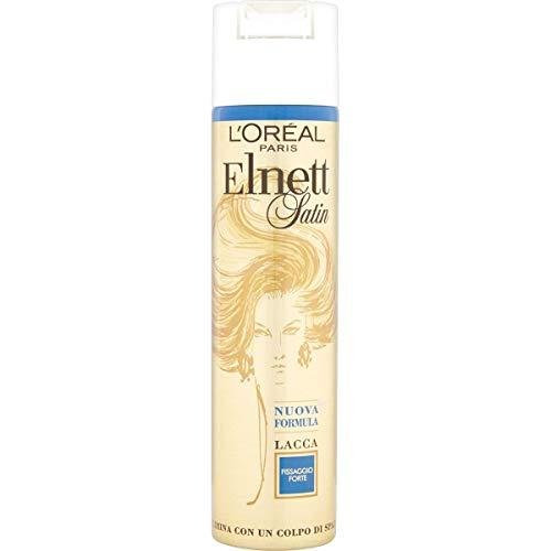 L'Oréal Paris Elnett Fissaggio Forte Lacca Spray per Capelli, 250 ml