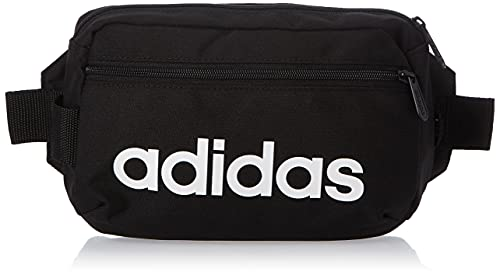 Adidas Linear Core Marsupio Sportivo, 39 cm, Black/White