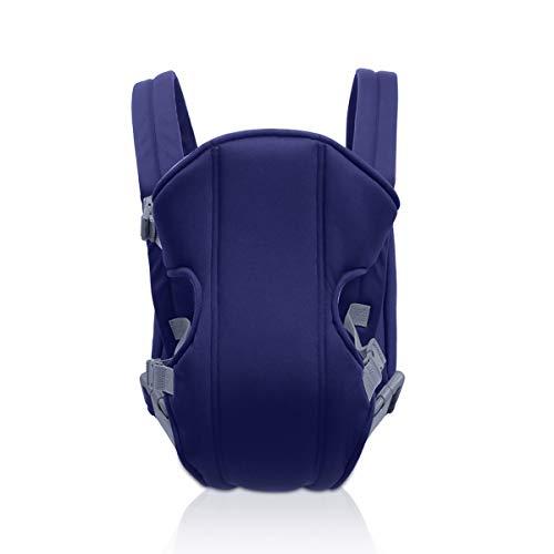 SONARIN 2021 portatile semplice e leggero Baby Carrier, leggero, comodo, traspirante,Formato libero,Ergonomico,3 portanti,Sicuro e comodo,Adattato al crescere del tuo bambino(Blu Scuro)