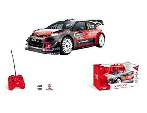 Mondo Motors - Citroen C3 WRC - modello in scala 1:28 - fino a 10 km/h di velocità - auto giocattolo per bambini - 63542