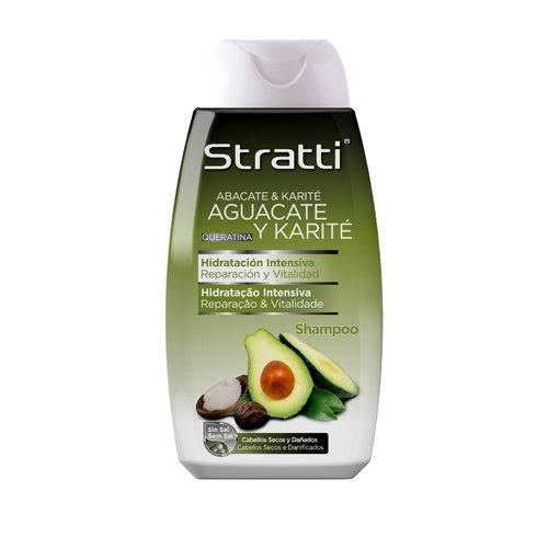 stratti Avocado–Shampoo Riparazione Y Vitalidad con keratina, senza Sale–400ml