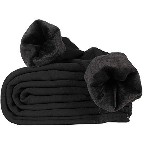Hotelvs Invernali Caldi Leggings per Donna Termici Fodera in Velluto Pantaloni a Vita Alta Elasticizzato