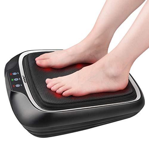 RENPHO Massaggiatore per piedi con calore, Macchina per Massaggiatore Elettrico per Piedi Shiatsu con Massaggiatore per Piedi e Schiena per Impastare a Caldo per Massaggiatore Piedi e Gambe