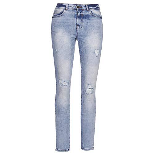 Noisy May NMKIM Jeans Donne Blu/Clair - IT 40/42 (US 27/30) - Jeans Boyfriend