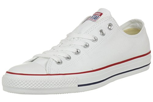 Converse All Star Ox Canvas Sneakers Bianche- UK 11