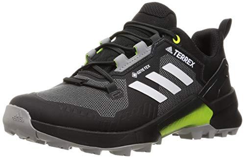 adidas Terrex Swift R3 GTX, Loafers Uomo, Cblack/Greone/Syello, 42 EU