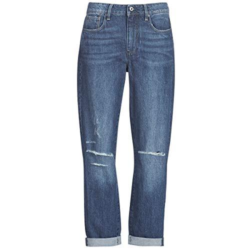 G-STAR RAW 3302 Saddle Mid Boyfriend Jeans Donne Blu/Medium - IT 38 (US 24/32) - Jeans Boyfriend