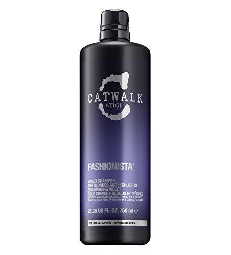 Catwalk Fashionista Shampoo, Viola, Bianco, 750 Millilitro