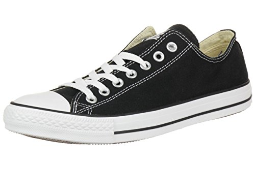 Converse All Star Ox Canvas Sneakers Nero-UK 9