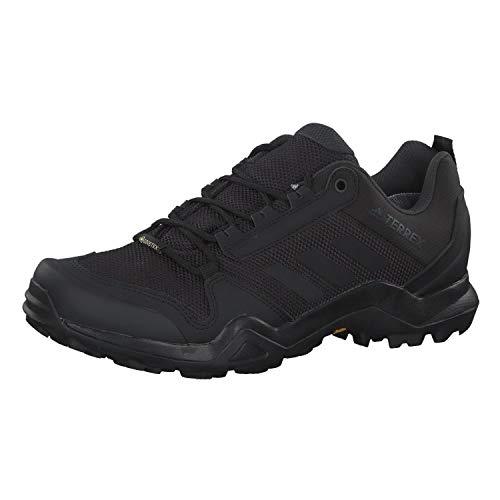 adidas Terrex Ax3 GTX, Scarpe da Trekking Uomo, Core Black/Core Black/Carbon, 42 EU