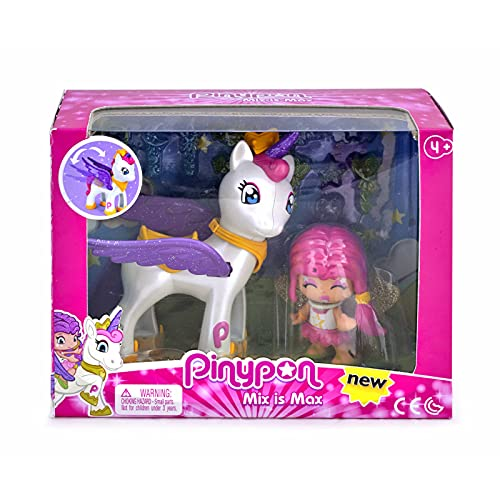 Pinypon - Unicorno Volante e figura, 700014082