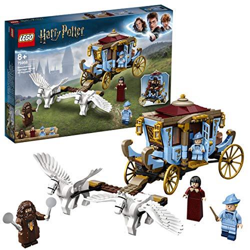 LEGO HarryPotter LaCarrozzadiBeauxbatons:ArrivoaHogwarts, Setcon 2 Figure di Cavalli, 75958