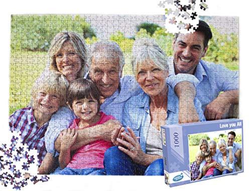 Foto Puzzle Personalizzato con Foto 1000 Pezzi, 1000 Pezzi Foto Puzzle, Puzzle Personalizzati