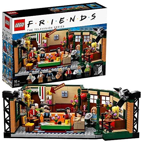 LEGO Ideas Central Perk, Gadget per il 25° Anniversario della Serie TV Friends, con Iconica Caffetteria e 7 Minifigure, Costruzioni per Adulti, 21319
